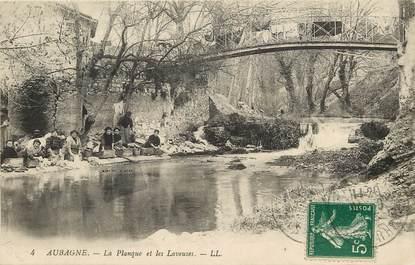 """CPA FRANCE 13 """"Aubagne, La Planque et les Laveuses"""""""