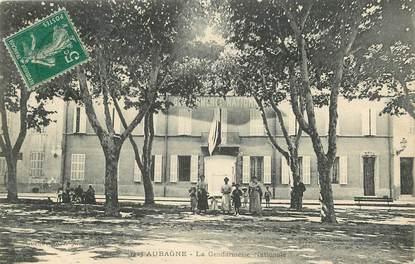 "CPA FRANCE 13 ""Aubagne, la gendarmerie nationale"""