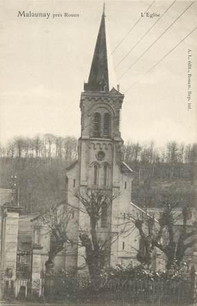 """/ CPA FRANCE 76 """"Malaunay près Rouen, l'église"""""""