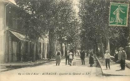 """CPA FRANCE 13 """"Aubagne, quartier du Général"""""""