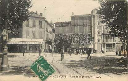 """CPA FRANCE 13 """"Aubagne, Place de la Pyramide"""""""