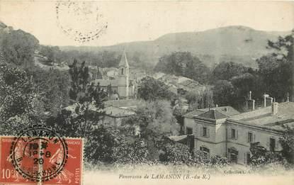 "CPA FRANCE 13 ""Lamanon, Panorama"""
