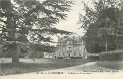 "/ CPA FRANCE 76 ""Environ d'Héricourt, château de Sommesnil"""