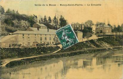 "/ CPA FRANCE 08 ""Moncy Saint Pierre, la Gimpette"""