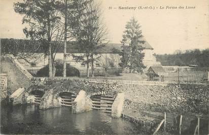 """/ CPA FRANCE 94 """"Santeny, la ferme des lions"""""""