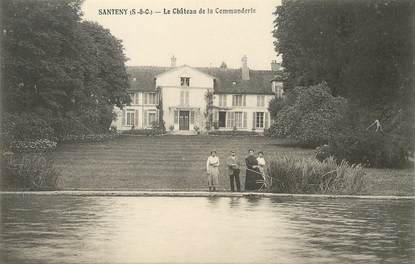 """/ CPA FRANCE 94 """"Santeny, le château de la commanderie"""""""
