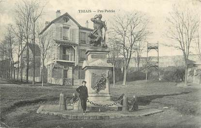 "/ CPA FRANCE 94 ""Thiais, Pro Patria"" / MONUMENT"