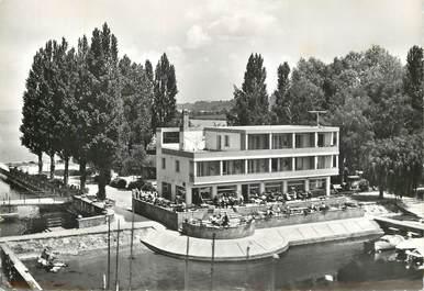 """CPSM  SUISSE  """"Estavayer le Lac, Hotel du Lac"""""""