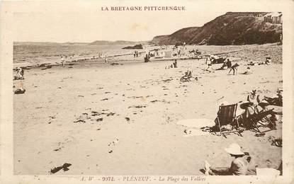 """CPA FRANCE 22 """"Pléneuf, la plage des vallées"""""""