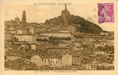 """CPA FRANCE 43 """"Le Puy, vue générale"""""""
