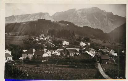 """/ CPSM FRANCE 74 """"Le Mont Saxonnex, vue sur le Bourgeal"""""""