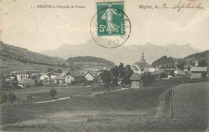 """/ CPA FRANCE 74 """"Megève, et l'aiguille de Varens"""""""