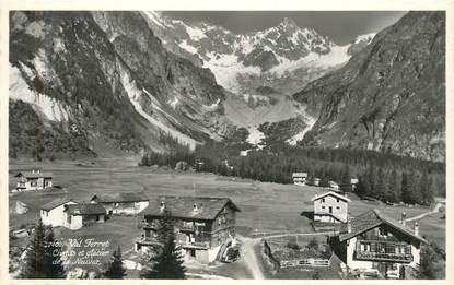 """CPSM   SUISSE   """"Val Ferret, glacier de la Neuvaz"""""""