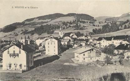 """/ CPA FRANCE 74 """"Megève, et le Calvaire"""""""