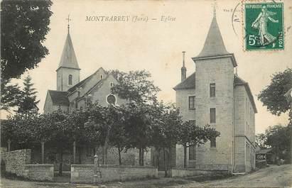 "CPA FRANCE 39 ""Montbarrey, Eglise"""