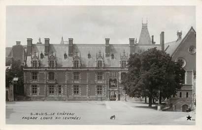 "CPA FRANCE 41 ""Blois, le chateau, Façade Louis XII"""