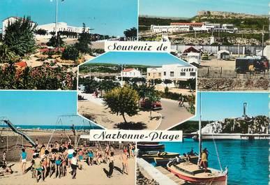 "CPSM FRANCE 11 ""Narbonne  plage"""