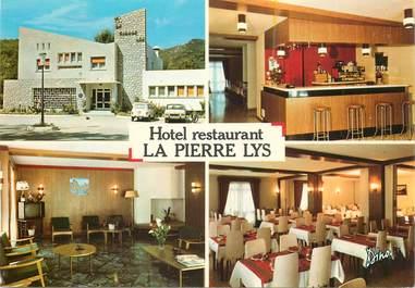 "CPSM   FRANCE 11 ""Hotel restaurant La Pierre Lys, Quillan"""