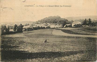 """CPA FRANCE 01 """"Hauteville lompnes, le village"""""""
