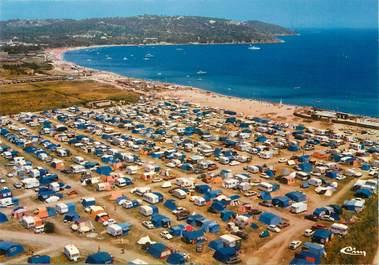 """/ CPSM FRANCE 83 """"Ramatuelle, plage de Pampelonne"""" / CAMPING"""
