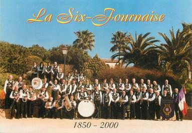 """/ CPSM FRANCE 83 """"Six Fours La Plage, la Six Fournaise, Maison de la musique"""""""