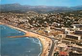 """83 Var / CPSM FRANCE 83 """"Six Fours, la plage Solviou, vue aérienne"""""""
