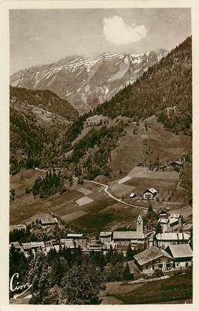 """CPSM FRANCE 73 """"Flumet, vue sur le village"""""""