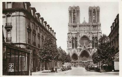 "CPSM FRANCE 51 ""Reims, Rue Libergier"""