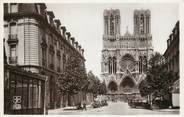 "51 Marne CPSM FRANCE 51 ""Reims, Rue Libergier"""