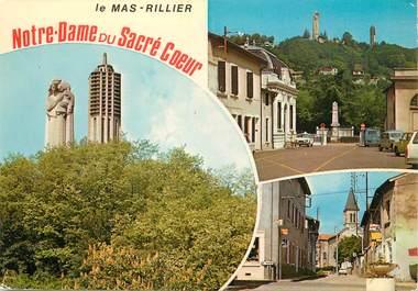"""/ CPSM FRANCE 01 """"Miribel, sanctuaire de Notre Dame du sacré Coeur """""""