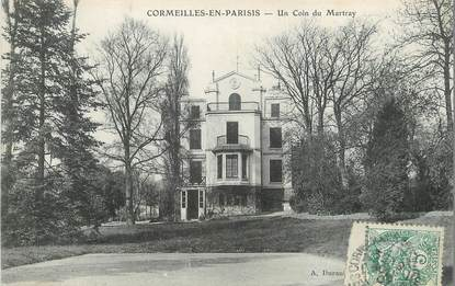 "/ CPA FRANCE 95 ""Cormeilles, un coin du martray"""