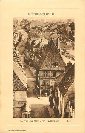 """CPA FRANCE 70 """"Luxeuil les Bains"""""""