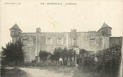 """CPA FRANCE 17 """"Macqueville, le chateau"""""""