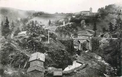 """/ CPSM FRANCE 63 """"Saint Sauveur la Sagne, vallée de la Dore"""""""