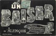 "61 Orne CPA FRANCE 61 ""Un Baiser d' Alençon"""