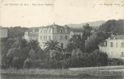 "/ CPA FRANCE 06 ""Le Cannet, villa Marie Alphonse"""