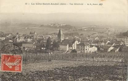 """/ CPA FRANCE 38 """"La Côte Saint André, vue générale """""""