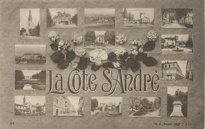 """/ CPA FRANCE 38 """"La Côte Saint André"""""""