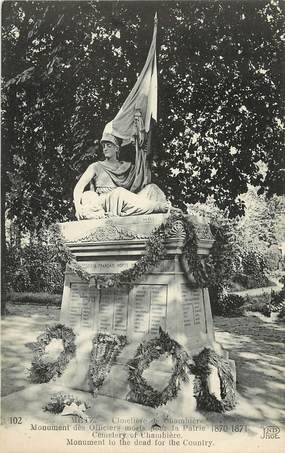 """CPA FRANCE 57 """"Metz, monument aux morts"""""""