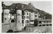 """04 Alpe De Haute Provence CPSM FRANCE 04 """"Entrevaux, le Pont levis et le chateau"""""""