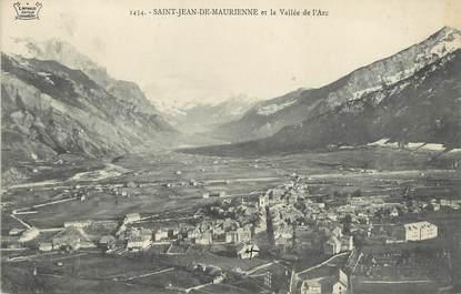 """/ CPA FRANCE 73 """"Saint Jean de Maurienne et la vallée de l'Arc"""""""