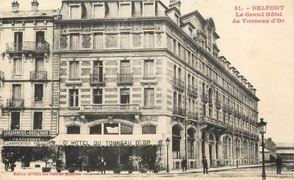 """CPA FRANCE 90 """"Belfort, le Grand Hôtel du Tonneau d'Or"""""""