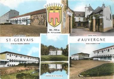 """/ CPSM FRANCE 63 """"saint Gervais d'Auvergne"""""""