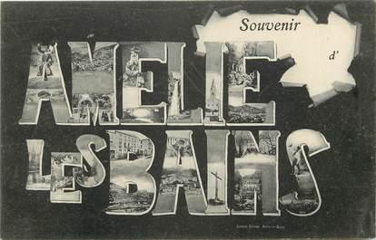 """CPA FRANCE 66 """"Souvenir d'Amélie les Bains"""""""