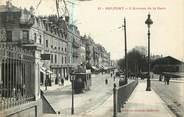 """90 Territoire De Belfort CPA FRANCE 90 """"Belfort, avenue de la gare"""""""