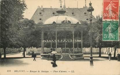 """CPA FRANCE 90 """"Belfort, Kiosque de musique"""""""