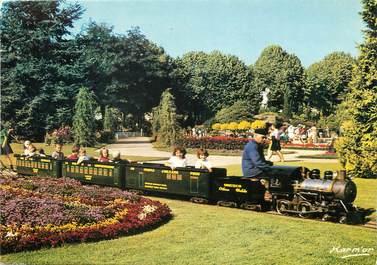 """/ CPSM FRANCE 45 """"Orléans, le parc pasteur et son petit train"""""""