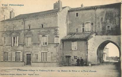 """/ CPA FRANCE 54 """"Toul, l'ancienne abbaye du faubourg Saint Evre"""" / TOUL PITTORESQUE"""