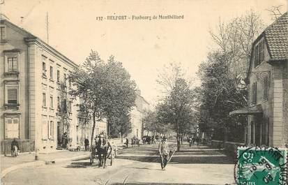 """CPA FRANCE 90 """"Belfort, le faubourg de Montbéliard"""""""