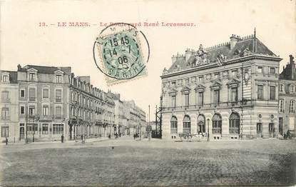 "/ CPA FRANCE 72 ""Le Mans, le bld René Levasseur"" / Ed. N G"